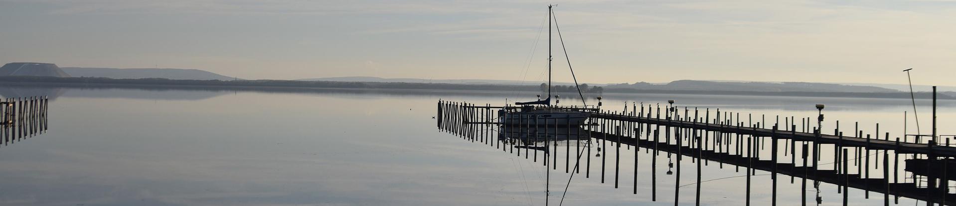 Steinhuder Meer Steg und Boot Folgeseite