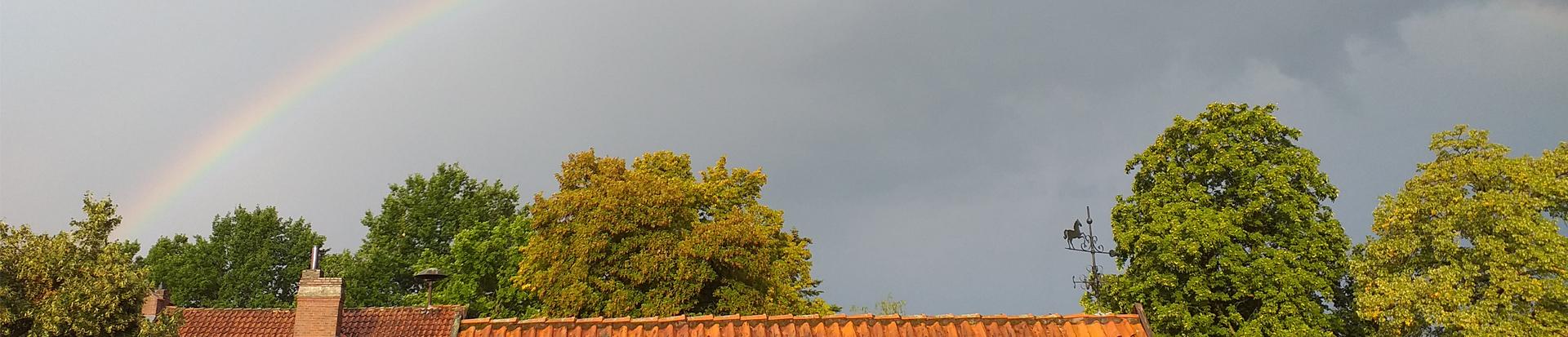 Regenbogen über Mardorf