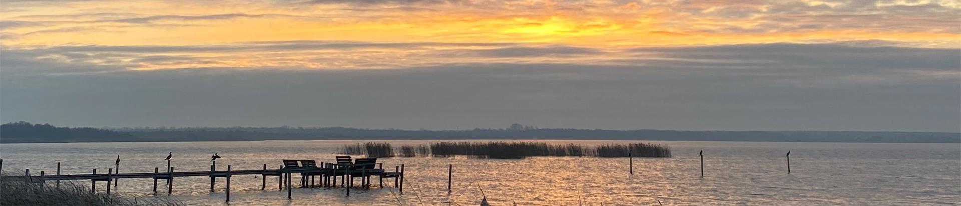Sonnenaufgang am Meer 2021 Neujahr