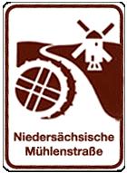 Wegweiser Nds. Mühlenstraße©Mühlenvereinigung Niedersachsen - Bremen e.V.