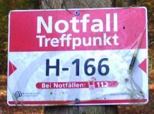 Plakette: Notfall-Treffpunkt©Dorfgemeinschaft Mardorf e.V.