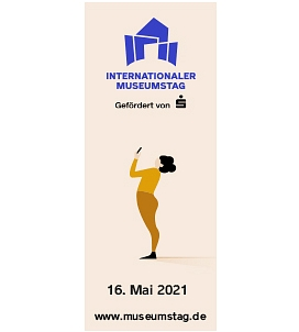 Logo Internationaler Museumstag 2021 © Deutscher Museumsbund e.V.